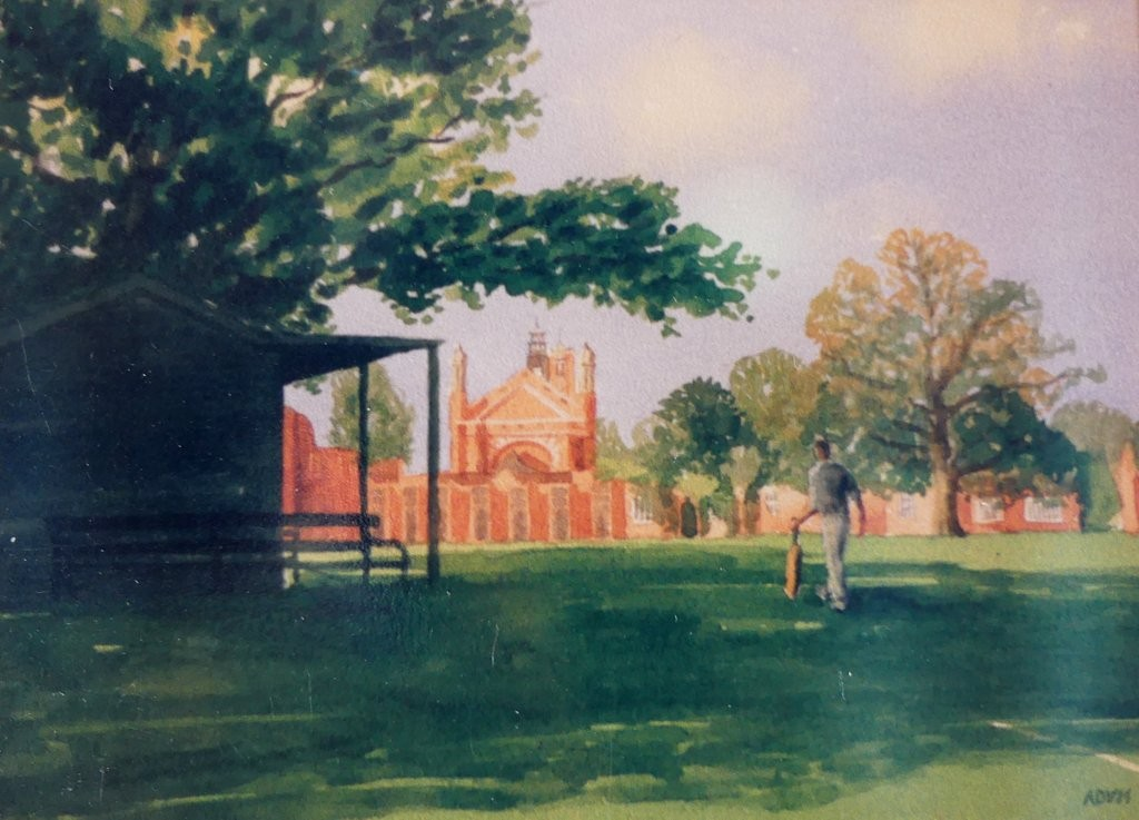 Cricket Pavilion, Christ's Hospital School, Horsham