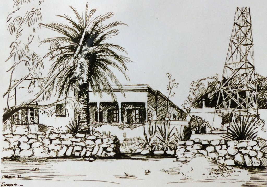 Auberge de Tangaro, Essaouira, Indian Ink