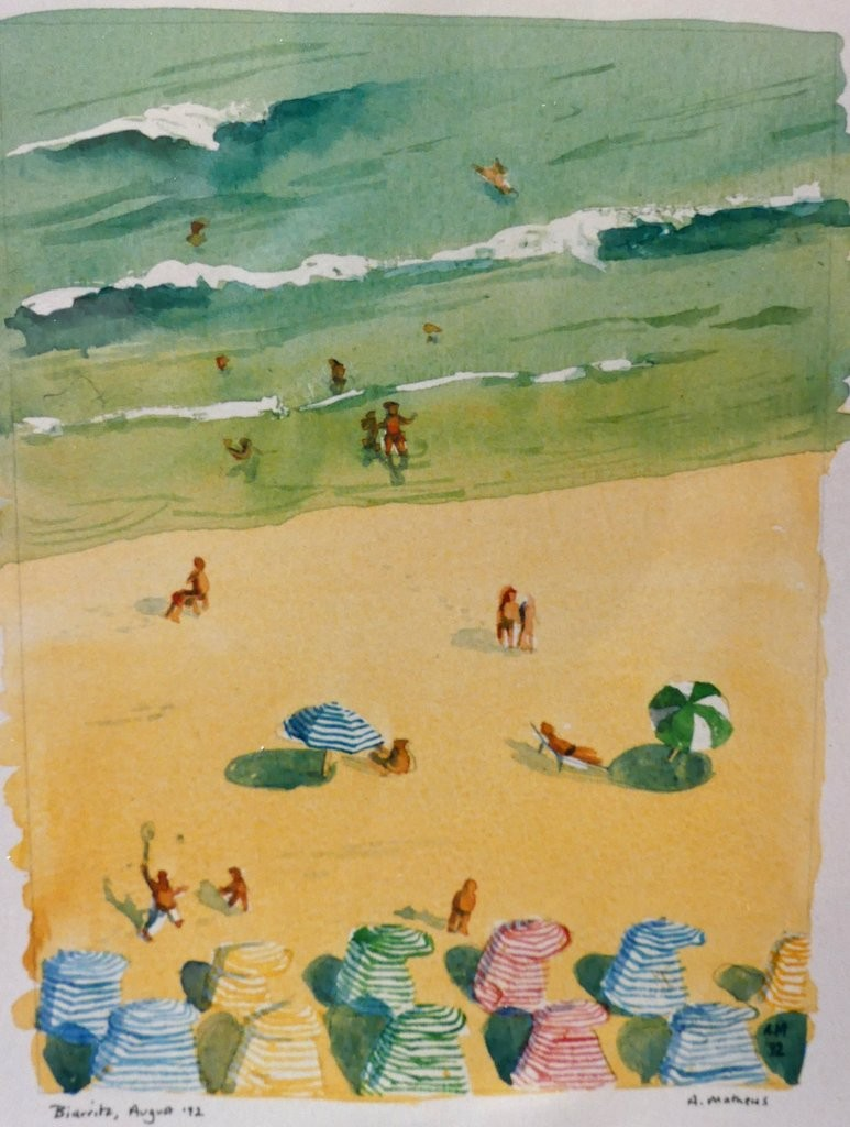 Holidaymakers, Biarritz