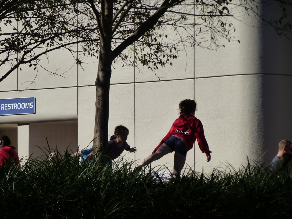 Children Playing, Disney World, Orlando, Florida