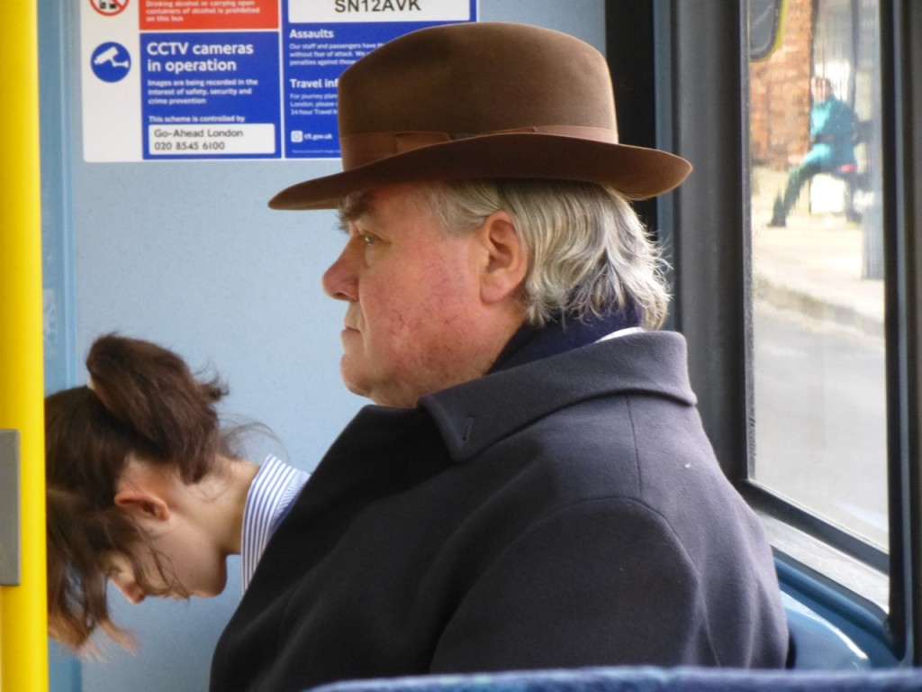 Man on the 439 Bus, South London
