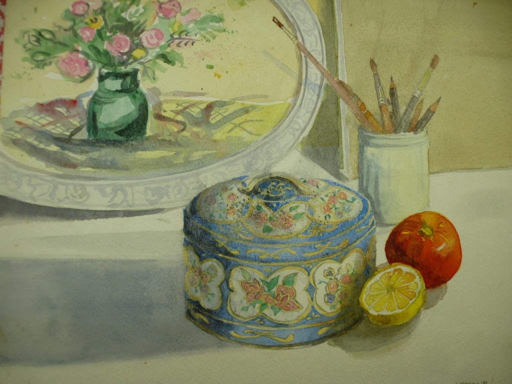 Still Life with Biscuit Tin
