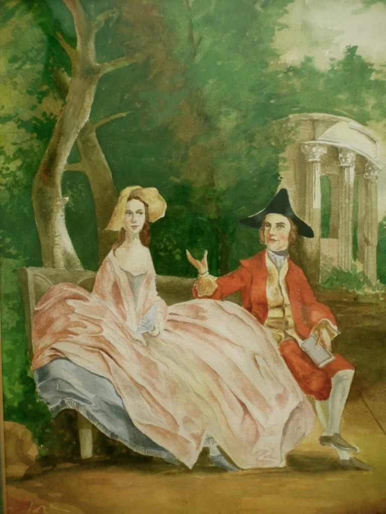 Copy of Gainsborough Painting