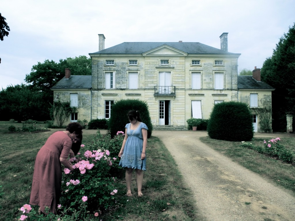 Pruning Roses at Monique's House, Touraine
